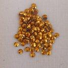 4mm Hot Fix Rhinestuds Gold 1gross (144 pcs)