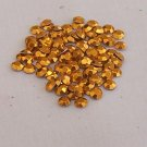 5mm HotFix Rhinestuds Gold1gross(144pcs)