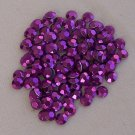 4mm Hot Fix Rhinestuds Amethyst 1gross (144 pcs)