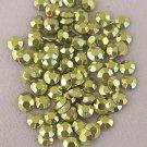 5mm Hot Fix Rhinestuds Light Green 1gross(144pcs)
