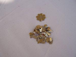 Hot Fix Rhinestud Water Drops 5x8mm Gold1gross (144pcs)