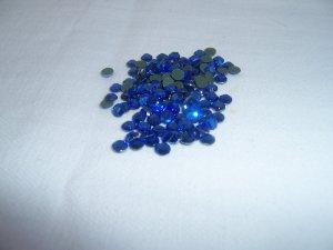 10ss (3mm) Hot Fix Rhinestones Blue 1gross (144pcs)