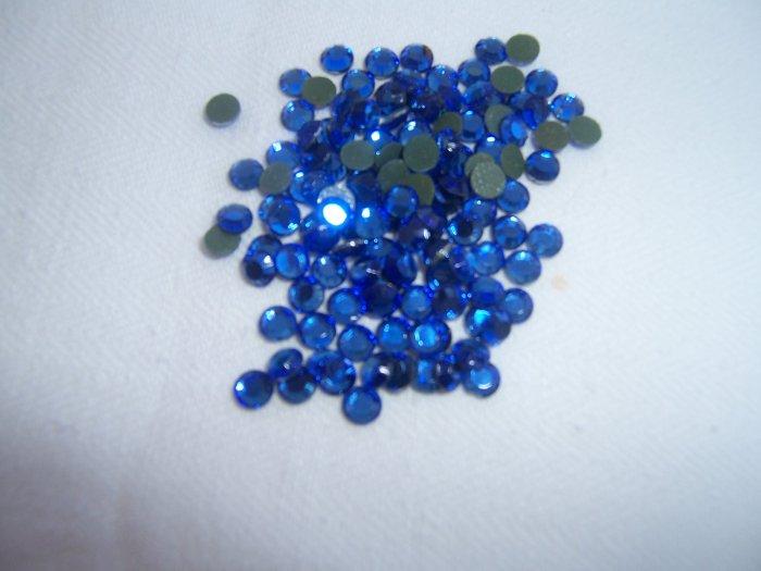 16ss (4mm) Hot Fix Rhinestones Blue 1gross (144pcs)