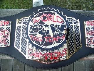 ECW Tag Team Kid Size Replica Belt