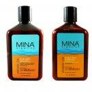 Mina Organics Skin Care Duo (Face & Body Moisturizer + Touch of Tan) 0407330