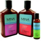 Mina Organics Hair Care Repair (Shampoo + Conditioner+ Leave-in Treatment) 0407320