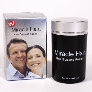 Miracle Hair® - Hair Building Fibers- 10g/30 day supply - Lt. Brown