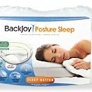 BackJoy Posture Sleep Pillow (White, 24 x 14-Inch)