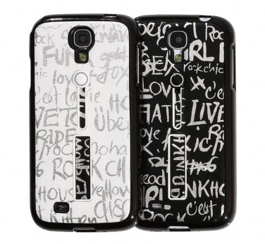 Pushring Galaxy S4 Gel Silicone Phone Case, Black