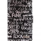 Pushring Galaxy Note2 Diary-style Phone Case, Black