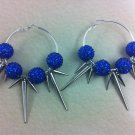 Blue And Silver Spikes