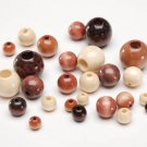 Bag Of Assorted Wood Beads