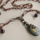 Victorian Style Labradorite Necklace