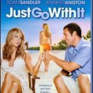 Just Go With It  Blu-ray DVD Combo pack NEW !