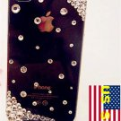 Iced Out Bling Bling Verizon Sprint Iphone 4 4S Clear Protector Back Cover Case HD