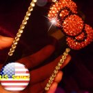 Hello Kitty Iphone 4 4s Bling 3D Case Crystal Red Big Bow Cover Verizon 4 at&t