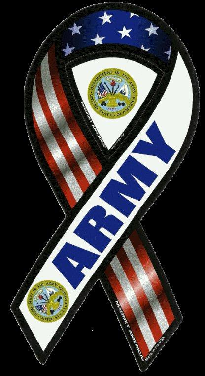 U.S. Army Ribbon Magnet