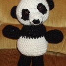 CLEARANCE ! Panda Bear crocheted plush toy