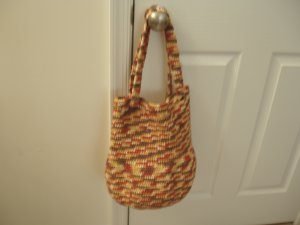 Bag Tote Satchel Purse Crocheted