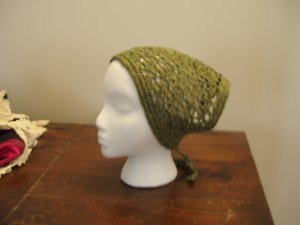 Cotton Triangular head scarf kerchief crocheted