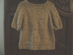 Ingenue Knit Sweater Oatmeal Wool