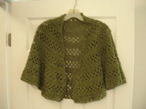 Cotton shawl wrap green