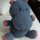 Hippo toy  plush baby
