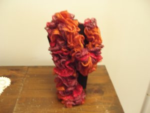 Frilly Scarf Rust