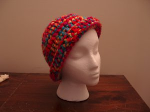 Rainbow Hat Cloche