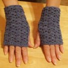 Handmade Accessory Wool Fingerless mittens, wristers