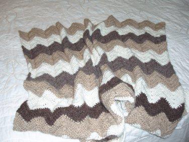 Alpaca blend lap / baby blanket