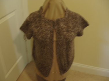 Knit vest taupe mist, browns