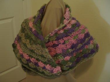Elegant Crocheted Shawl