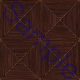 Fancy wooden tiles.