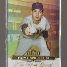 2011 Topps Tribute  #18  HOYT WILHELM   Giants
