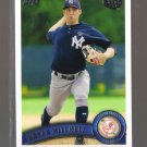 2011 Topps Pro Debut  #25  BRYAN MITCHELL   Yankees