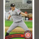 2011 Topps Pro Debut  #44  MATT THOMSON   A's