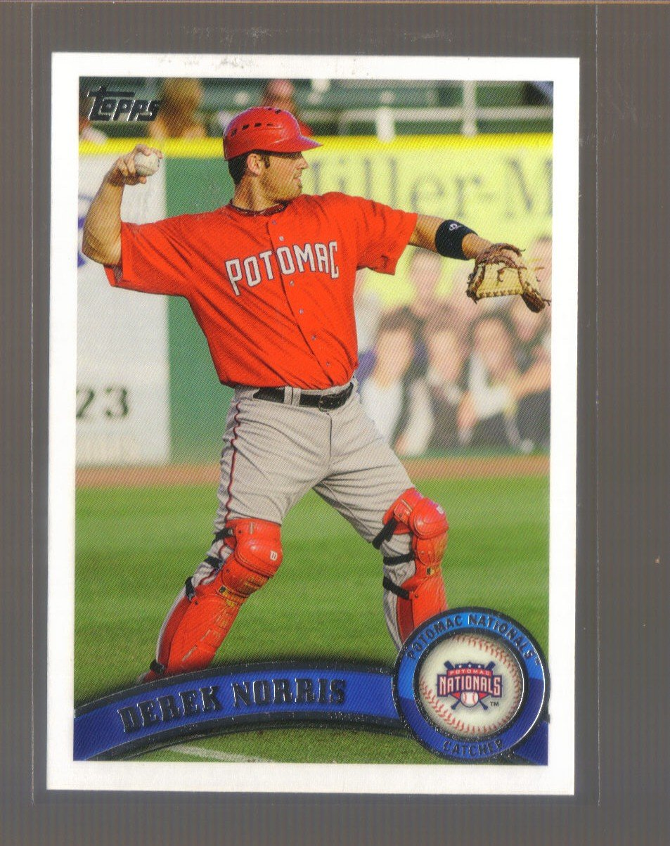 2011 Topps Pro Debut  #51  DEREK NORRIS   Nationals
