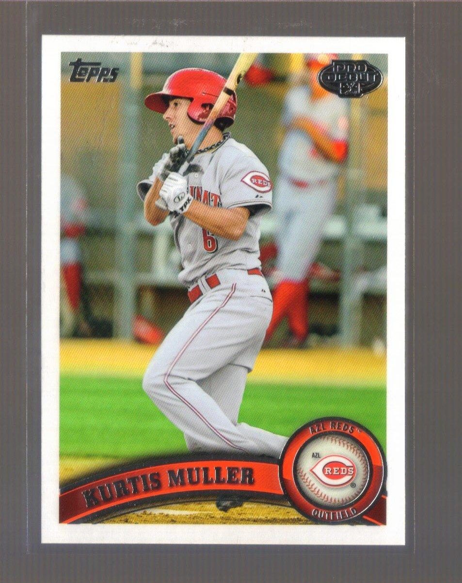 2011 Topps Pro Debut  #70  KURTIS MULLER   Reds