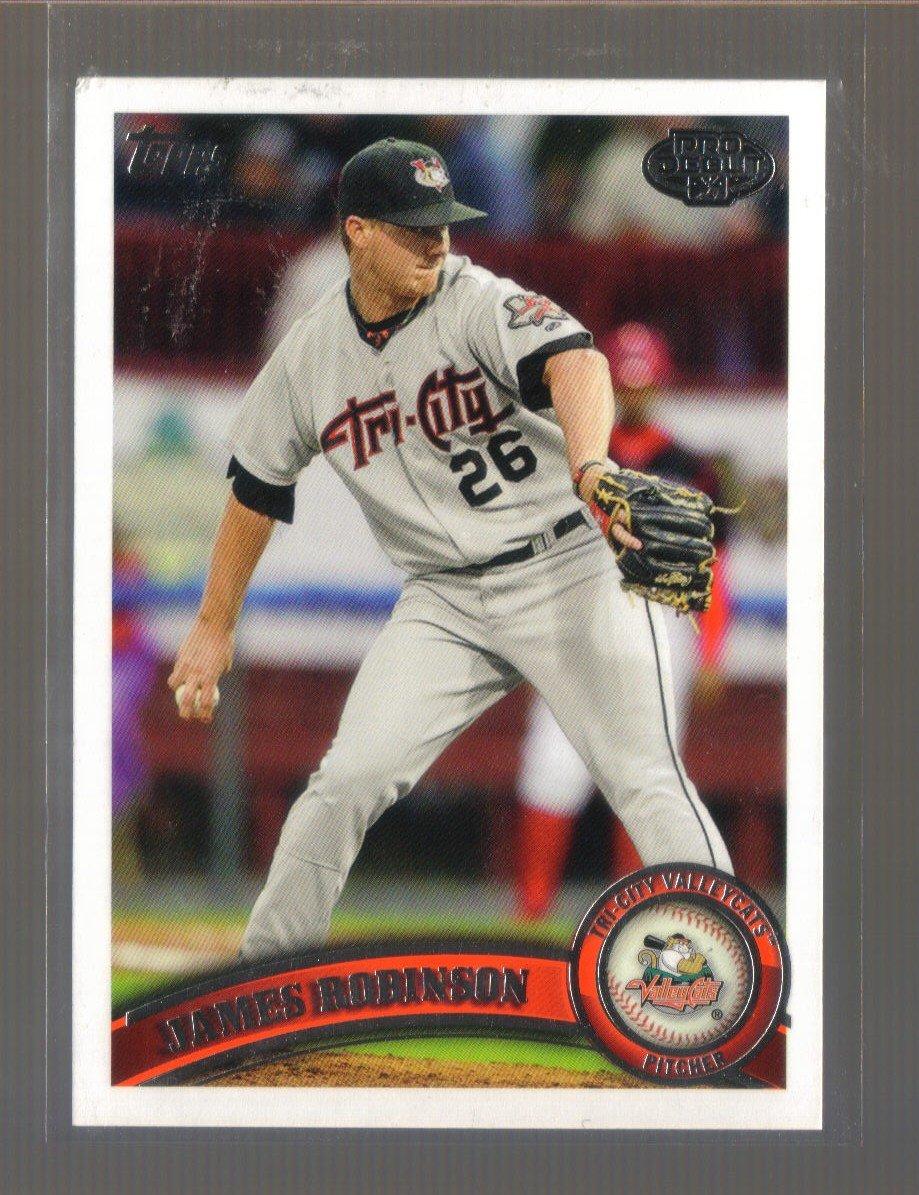2011 Topps Pro Debut  #108  JAMES ROBINSON   Astros