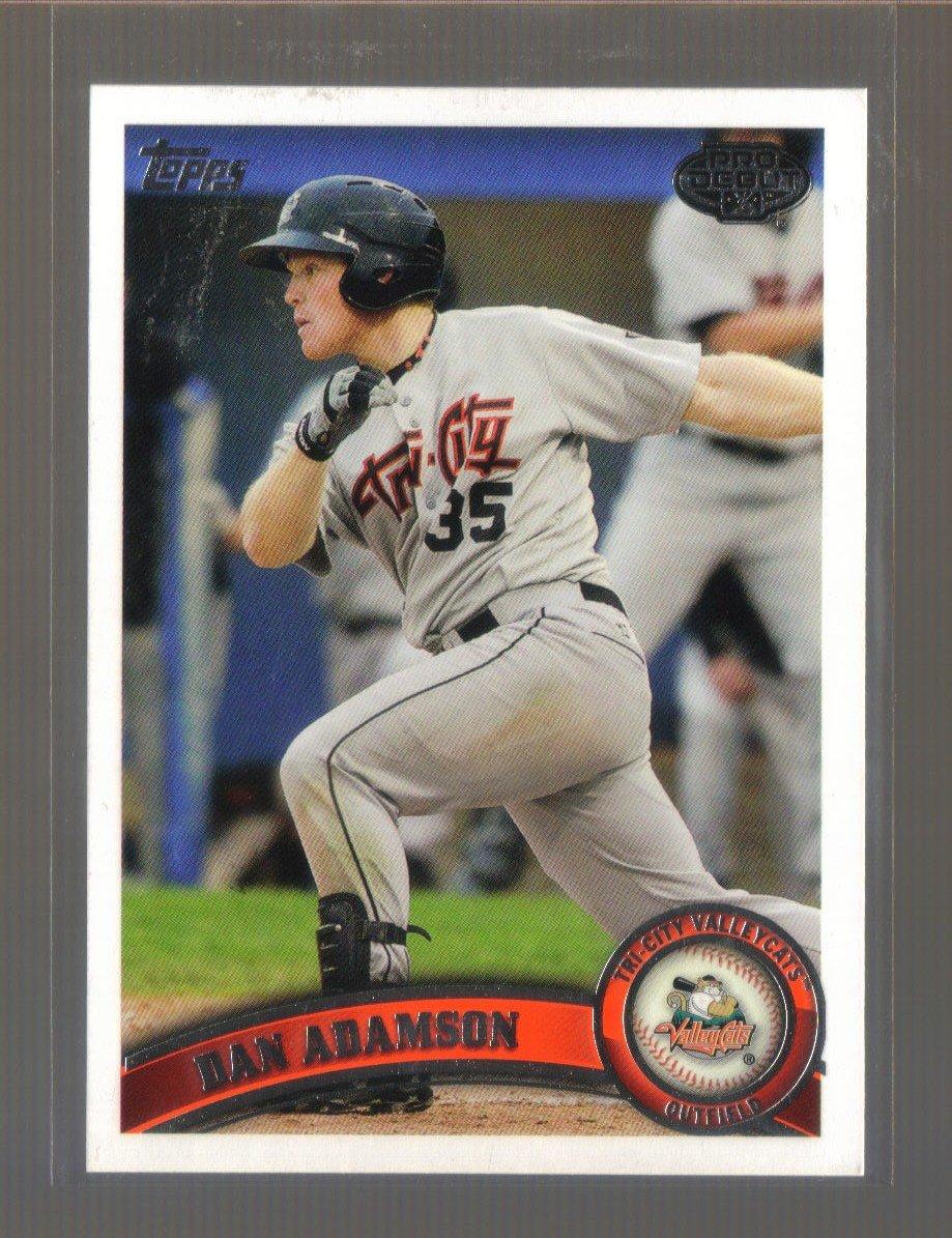 2011 Topps Pro Debut  #122  DAN ADAMSON   Astros