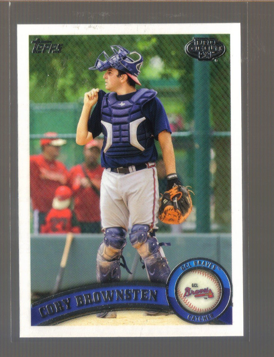 2011 Topps Pro Debut  #140  CORY BROWNSTEN   Braves