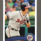2011 Topps Pro Debut  #148  TODD CUNNINGHAM   Braves