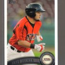 2011 Topps Pro Debut  #149  JAFF DECKER   Padres