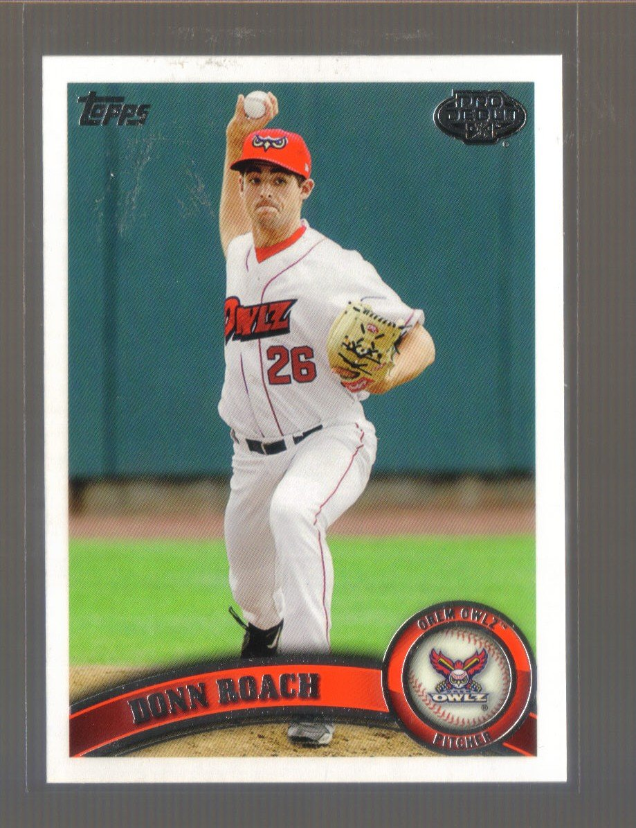 2011 Topps Pro Debut  #152  DONN ROACH   Angels
