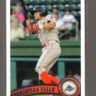 2011 Topps Pro Debut  #158  SEBASTIAN VALLE   Phillies