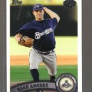 2011 Topps Pro Debut  #171  DANE AMEDEE   Brewers