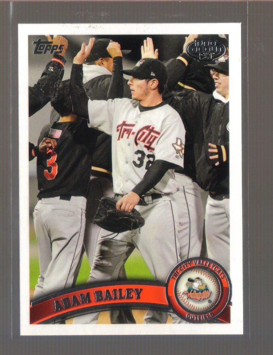 2011 Topps Pro Debut  #192  ADAM BAILEY   Astros
