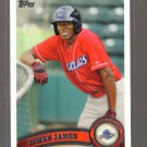 2011 Topps Pro Debut  #193  JIWAN JAMES   Phillies
