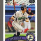 2011 Topps Pro Debut  #201  RYAN FISHER   Marlins